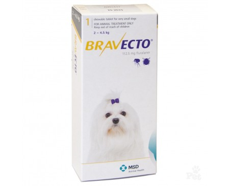 Bravecto Tablet Toy Dog