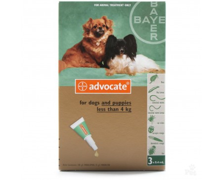 Advocate Dog Small, <4kg