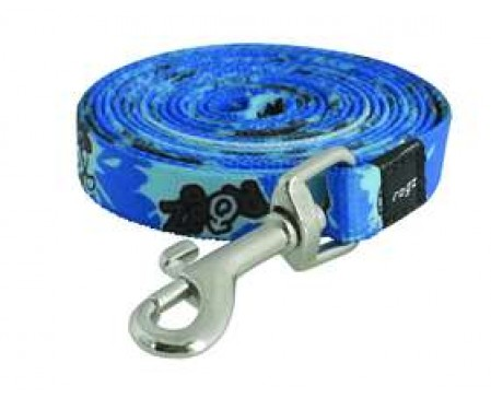 Rogz Beltz Yo Yo Yip Fixed Lead XS Blue