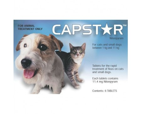 Capstar Flea Tablets 11mg