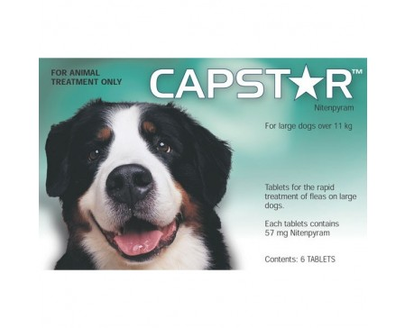 Capstar Flea Tablets 57mg