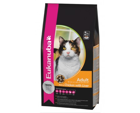 Eukanuba Cat Adult Chicken & Liver