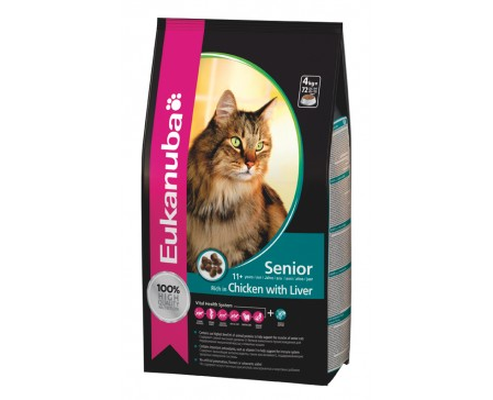 Eukanuba Cat Senior Chicken & Liver