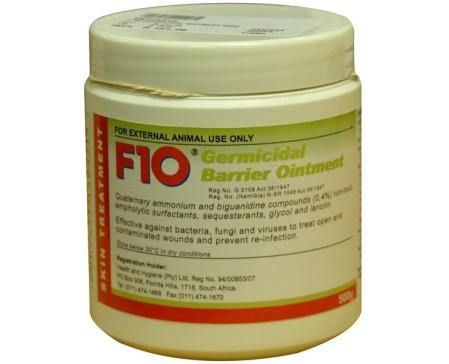 F10 Germicidal Wound Ointment 500g