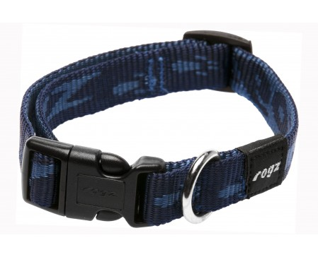 Rogz Dogz Beltz Matterhorn SR Collar Blue Medium
