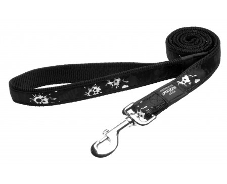Rogz Dogz Beltz Armed Response Fixed Lead XL Paint Paws