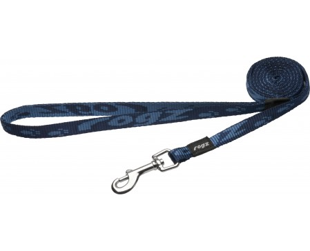 Rogz Dogz Beltz Kilimanjaro Fixed Lead Small Blue