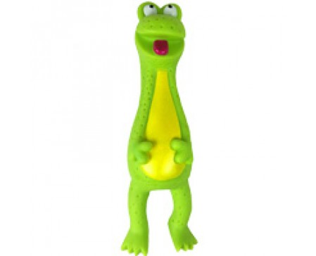 petstages-neon-frog-latex-free-dog-toy