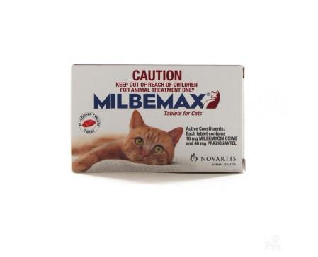 Milbemax Cat  Dewormer - 1 Tablet, >2kg