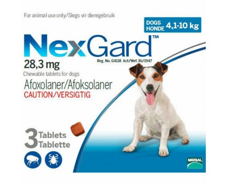 nexgard-flea-tick-preventative-4.1-10kg-dog-pack