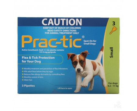 Prac-tic Top-Spot Dog S