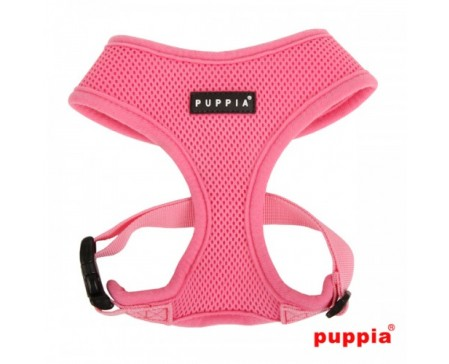 puppia-soft-harness-dog-pink