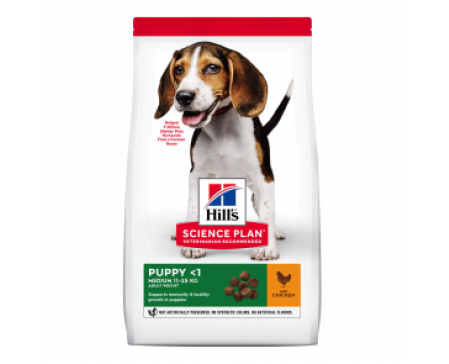 Science Plan Puppy Healthy Development Medium Breed