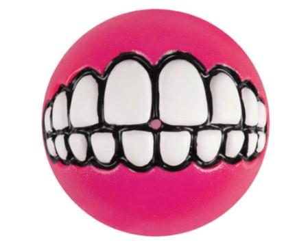 dog-ballz-grinz-ball-small-pink