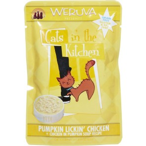 Weruva Cats in The Kitchen Pumpkin Lickin Chicken-Pouch x1- 85g