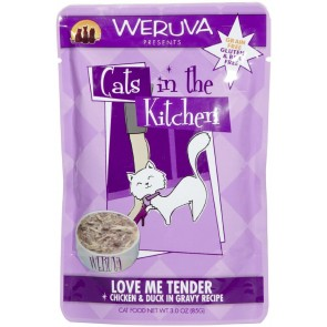 Weruva Cats in The Kitchen Love Me Tender -Pouch x1-85g