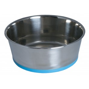 rogz-dog-bowl-slurp-stianless-steel-medium-turquoise