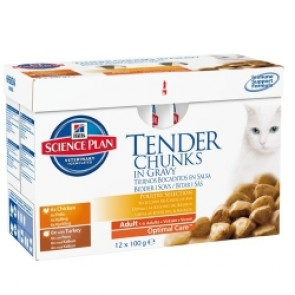 Science Plan Adult Chicken/Turkey Pouches
