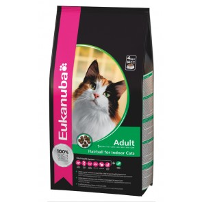 Eukanuba Adult Hairball Control Chicken & Liver