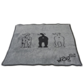 Wag World Winter Blankie, Large (100cm X 105cm)