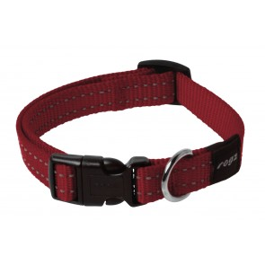 Rogz Dogz Snake SR Collar M Red