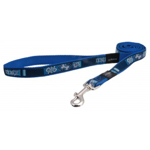 Rogz Dogz Beltz Beach Bum Fixed Lead L Indigo