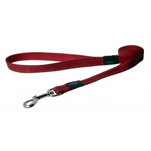 Rogz Dogz Fanbelt Fixed Lead L Red