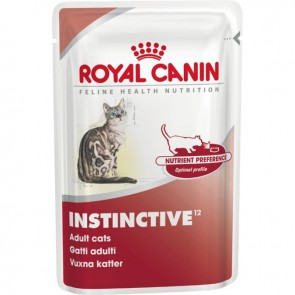 Royal Canin Feline Instinctive Chunks in Gravy 12 X 85g