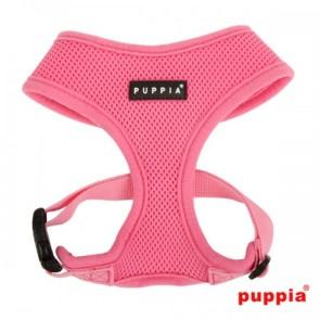 puppia-soft-harness-dog-pink