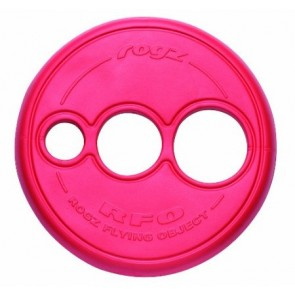 Rogz Flying Frisbee Red