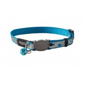 Rogz Catz ReflectoCat 8mm Extra Small Reflective Safeloc Breakaway Cat Collar