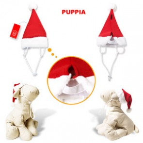 Christmas Santa Hat for Pooches - Medium Red