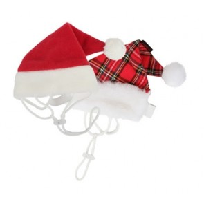 Christmas Santa Hat for Pooches - XL Red