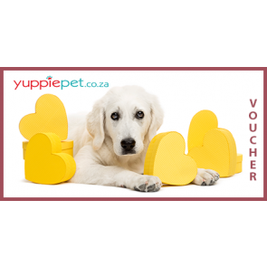 Gift Card - Dog with Yellow Hearts